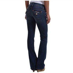 Hudson Jeans Low Rise Boot cut dark wash 26